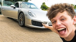 Download BUYING MY DAD HIS DREAM CAR *2017 PORSCHE 911 4S* Video