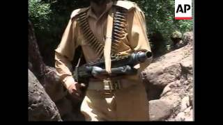 Download Security on Pakistani side of the Kashmir line of control Video