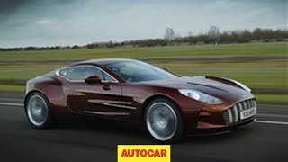 Download Aston Martin One-77 exclusive video Video