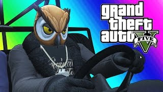 Download GTA 5 Online Funny Moments - Epic Rocket Car Stunts! Video