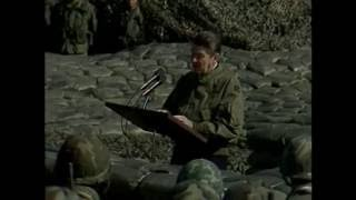 Download President Reagan's Remarks to the troops in the DMZ at Camp Liberty Bell in Korea, November 13, 1983 Video