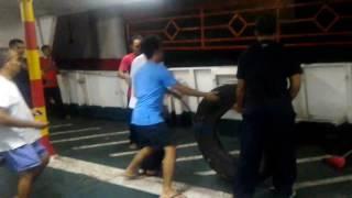 Download Senggolan kapal penumpang merak bakauheni Video