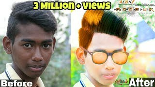 Download Clear Face And Straight Hair   How To Change Hairstyle And Face Colour By Picsart 2017 HD Video