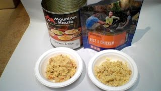 Download Review: Military Chicken and Rice Can by Mountain House - Freeze Dried Video