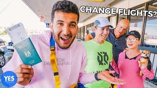 Download Convincing Strangers at Airport to Fly Somewhere Else with us... Video