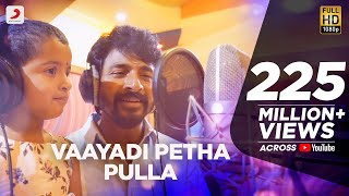 Download Kanaa - Vaayadi Petha Pulla Lyric | AishwaryaRajesh, Sivakarthikeyan | Dhibu Ninan Thomas Video