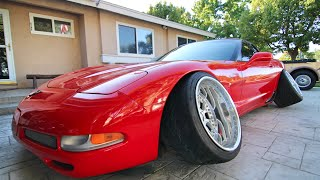 Download The Corvette Gets New Wheels! -#WillTheyFit #WhatAreThose!? #Whorevette Video