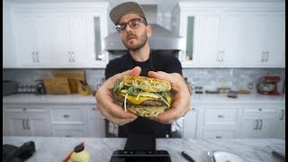 Download making 3 burgers i've never tried before Video