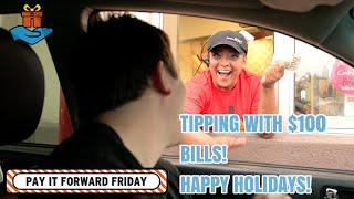 Download Tipping With 100 Dollar Bills for the Holidays With Nick Unsworth Video