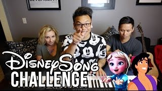 Download Disney Song Challenge - Young Elsa vs Aladdin | AJ Rafael Video