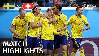 Download Sweden v Switzerland - 2018 FIFA World Cup Russia™ - Match 55 Video