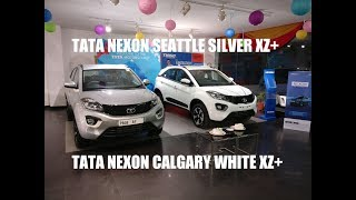 Download TATA NEXON SEATTLE SILVER XZ+ PICS & VIDEO| DELIVERY TAKEN Video