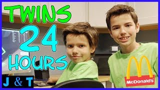 Download 24 Hours Twins For A Day / Jake and Ty Video