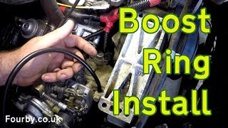 Download Land Rover 200 or 300Tdi Boost Ring installation. Video