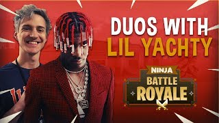 Download Ninja Plays Duos With Lil Yachty - Fortnite Battle Royale Gameplay Video