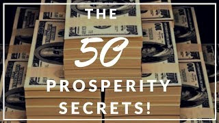 Download ″The 50 Prosperity Secrets!″ (Listen To This Everyday!) Video