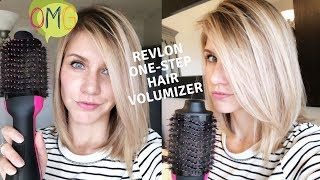 Download REVLON ONE STEP HAIR DRYER | Salon Style Blowout At Home! Video
