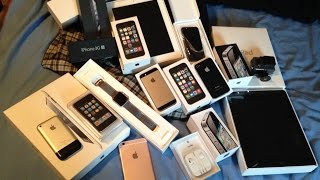 Download RICH FRIEND GIVES ME HUGE IPHONE, IPAD, IPOD, AND APPLE WATCH LOT!! ALL FOR FREE! Video