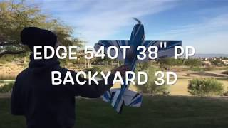 Download Edge 540T 38″ PP Backyard 3D Video