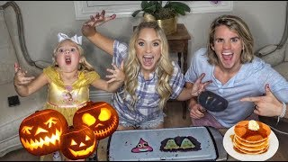 Download ULTIMATE HALLOWEEN PANCAKE ART CHALLENGE!!! DIY Video