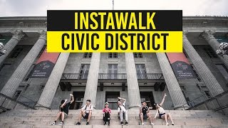 Download Re-Discovering The Heart of Singapore In The Civic District - #InstaWalk With MND Singapore Video