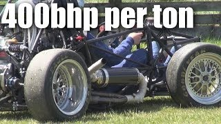 Download Formula SAE race-car testing at Tokoroa Video