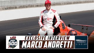 Download IndyCar Driver Marco Andretti Discusses His Preparations for the Indy 500 | Stadium Video