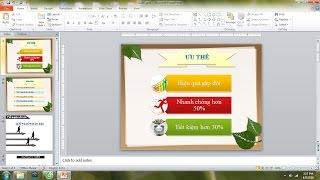 Download Cách làm slide trở nên chuyên nghiệp hơn - Hướng dẫn Powerpoint 2010 cơ bản Video