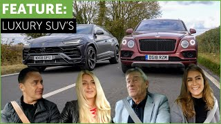 Download Lamborghini Urus vs Bentley Bentayga Super SUV Shootout w/ Tiff Needell and Tatbels Video
