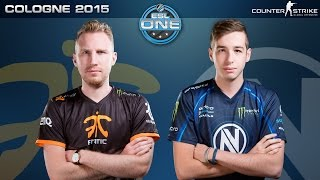 Download CS:GO - Fnatic vs. EnVyUS [Dust2] - ESL One Cologne 2015 - Grand Final Map 1 Video