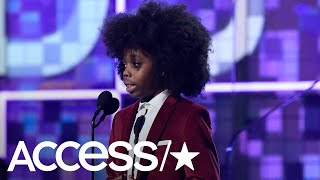 Download Diana Ross' 9-Year-Old Grandson Raif-Henok Steals The 2019 Grammys Show With An Adorable Speech Video