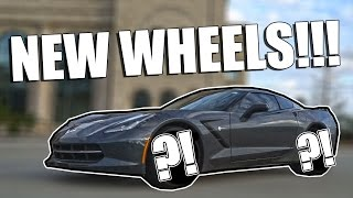 Download THE CORVETTE GETS NEW WHEELS! Video