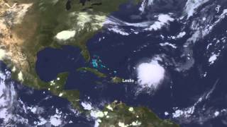 Download Time-lapse: The entire 2012 Atlantic Hurricane Season in under 5 Minutes Video
