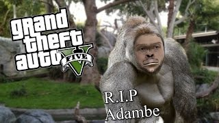 Download GTA 5 PC Online Funny Moments - HARAMBE HUNT! (Custom Games) Video