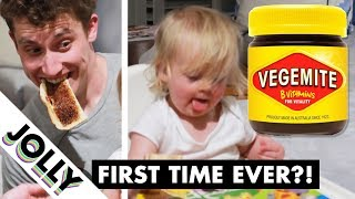 Download Baby Juno Tries VEGEMITE For the First Time...! Video