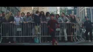 Download The Amazing Spider Man 2 End Scene: Kid Stands Up Against Rhino Man - High Definition Video