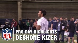 Download Deshone Kizer Pro Day Highlights & Mike Mayock's Analysis | NFL Video