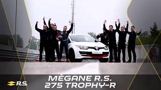 Download Renault Mégane R.S. 275 Trophy-R 2014 Nürburgring Nordschleife lap record (full version) #UNDER8 Video