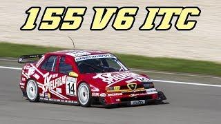 Download Alfa Romeo 155 Ti V6 ITC screaming over 11.000 rpm (Nürburgring 2017) Video
