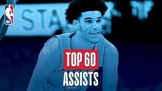 Download Top 60 Assists | 2017-2018 NBA Season Video