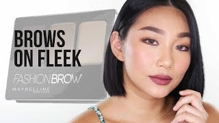 Download BROWS ON FLEEK with Maybelline Fashion Brow Collection | Raiza Contawi Video