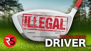 Download I bought an ILLEGAL GOLF CLUB…..750CC Driver Head Video