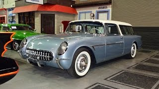 Download 1955 Chevrolet Chevy Corvette Nomad Wagon Motorama Concept on My Car Story with Lou Costabile Video