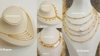 Download Latest Gold Chain Necklace Designs with Weight Video