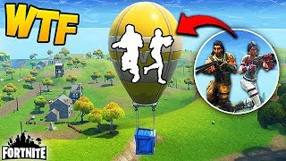 Download HIDING INSIDE A SUPPLY BALLOON? - Fortnite Funny Fails and WTF Moments! #173 (Daily Moments) Video