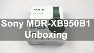 Download Sony MDR-XB950B1 Unboxing & quick Hands on Review - First Look   Nothing Wired Video