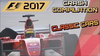 Download F1 2017 Game - Testing How Realistic The Damage Model Is With Classic Cars Video
