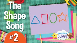 Download The Shape Song #2 | Super Simple Songs Video