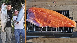 Download Catch and Cook WILD Pacific Salmon! Video