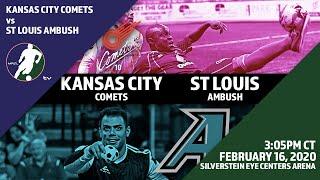 Download Kansas City Comets vs St Louis Ambush Video